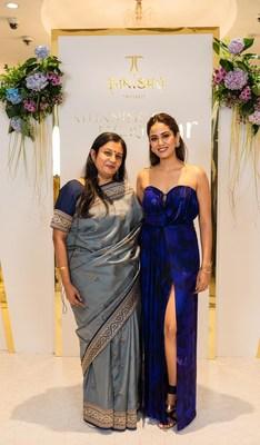 L2R- Ranjani Krishnaswamy, GM, Marketing, Tanishq, Titan Company Ltd. and Mira Kapoor